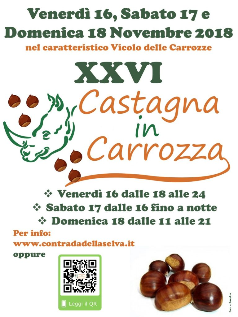 castagna in carrozza 2018